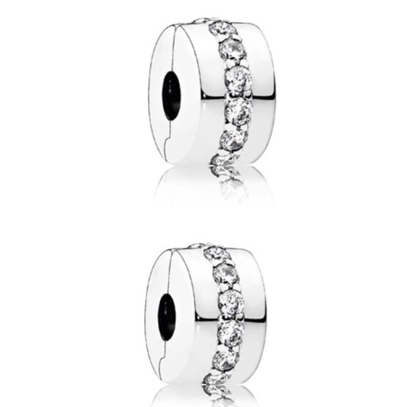 04e5bd398 Pandora Jewelry | New Shining Path Clips 791972cz | Poshmark